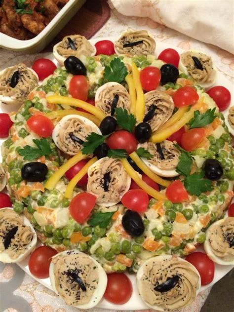 cuisiner le maquereau frais decoration salade ordoeuvre