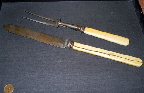 Antique Walker And Hall Sheffield England Carving Knife