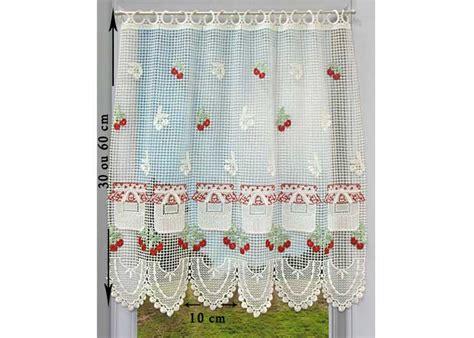 petit rideau cantonniere macrame petit rideau pret