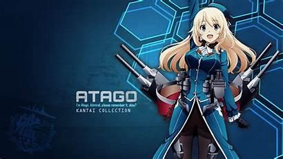 Kantai Atago Deviantart Kancolle Pc Anime