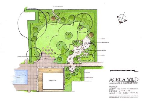 acres wild masterplan masterplan of japanese garden by acres landscape planning master pln garden design