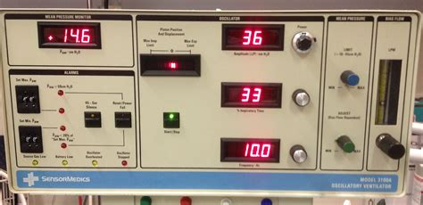 elective high frequency oscillatory ventilation