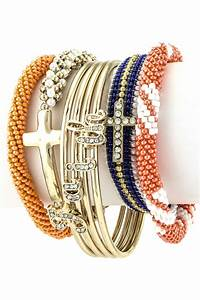 Assorted Cross Nepal Bracelet Set - Bracelets