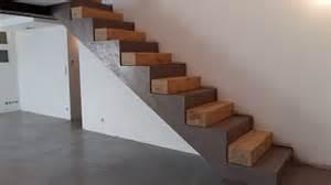 Escalier Beton Ciré Cout by Indogate Com Salle De Bain Beton Cire Et Bois