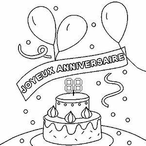 Dessin Gateau Anniversaire : dessin de joyeux anniversaire ~ Melissatoandfro.com Idées de Décoration