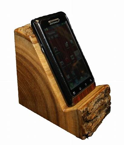 Phone Holder Wood Stand Diy Iphone Wooden