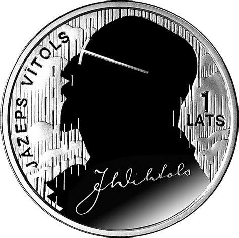 1 Lats (Jāzeps Vītols) - Latvia - Numista