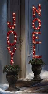 joy christmas lighted stake birddog distributing inc