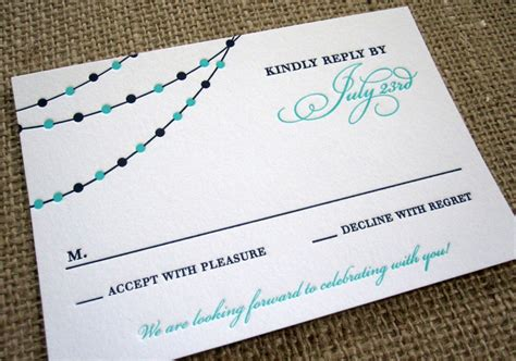 Maybe you would like to learn more about one of these? RSVP Card Insight & Etiquette - Every Last Detail