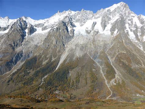 les glaciers du mont blanc alta via