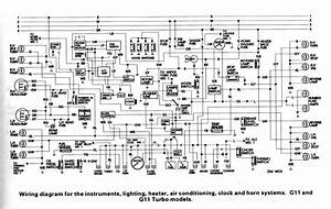 Air Conditioner Schematic Wiring Diagram  Daihatsu Charade