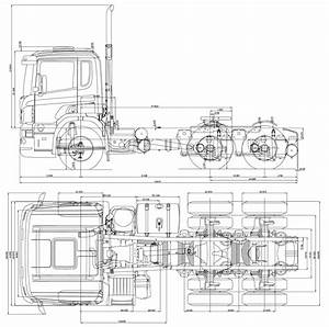 Scania Ca 6x2 Heavy Truck Blueprints Free