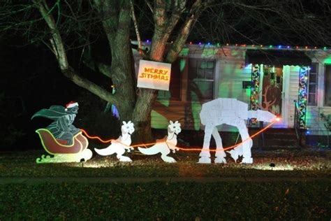 merry sithmas how we made our own wars lawn ornaments offbeat home