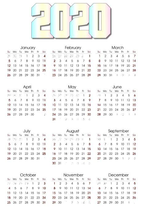 calendar template postermywall