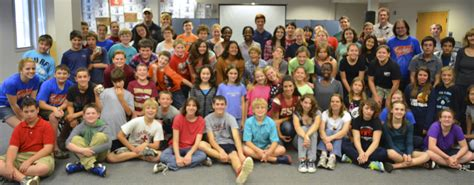 middle schoolers engage  spiritual enrichment