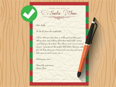 3 Ways To Write A Letter From Santa