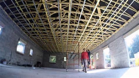 plafond placo ba13 troisieme 233 la pose des fourrures