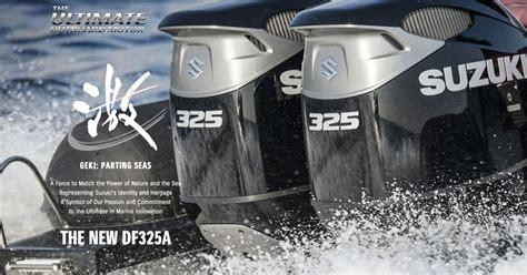 Suzuki Marine by Df325a Marine Global Suzuki