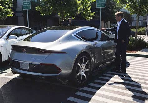 Fisker Emotion 400-mile Electric Sedan Seen In The Metal