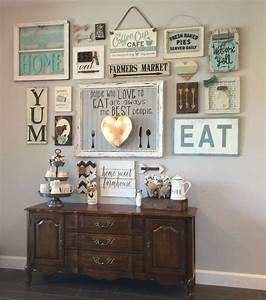 25 best kitchen gallery wall ideas on pinterest kitchen With what kind of paint to use on kitchen cabinets for family scrabble wall art