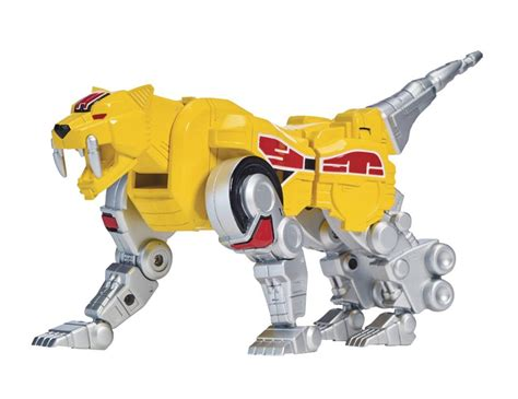 mighty morphin power rangers legacy sabertooth tiger zord