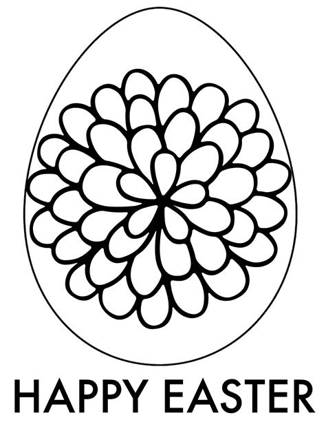 easter eggs coloring pages coloringsuitecom