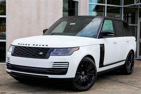 Land Rover Range Rover 2019 by New 2019 Land Rover Range Rover Hse Sport Utility In