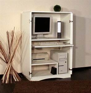Computer Im Schlafzimmer : ikea schreibtisch im schrank ~ Markanthonyermac.com Haus und Dekorationen