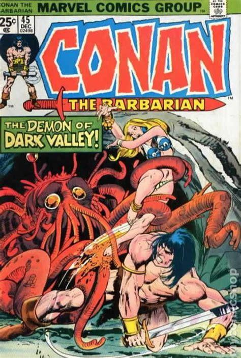 conan  barbarian  marvel mark jewelers comic books