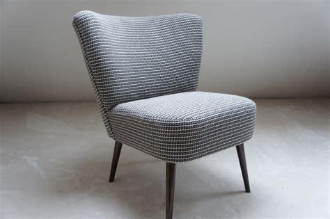 chaise ée 50 fauteuil cocktail vintage tissu grosse maille meubles et