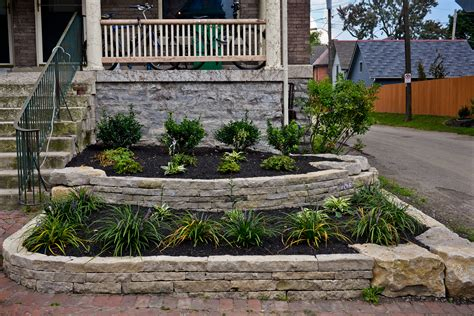 garden retaining wall retaining walls garden walls in columbus ohio 187 wilber