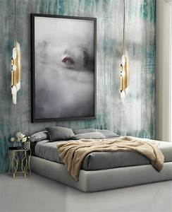 Tableau Deco Chambre : 1001 id es pour une d coration chambre adulte comment structurer son espace ~ Teatrodelosmanantiales.com Idées de Décoration