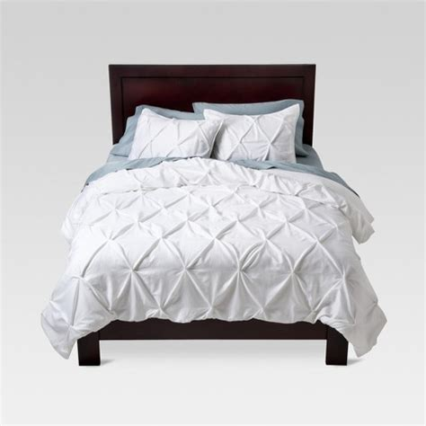 pinched pleat comforter set pinched pleat comforter set threshold target