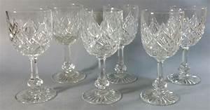 Verre A Champagne : service de verres en cristal de baccarat magasin pierre brost ~ Teatrodelosmanantiales.com Idées de Décoration