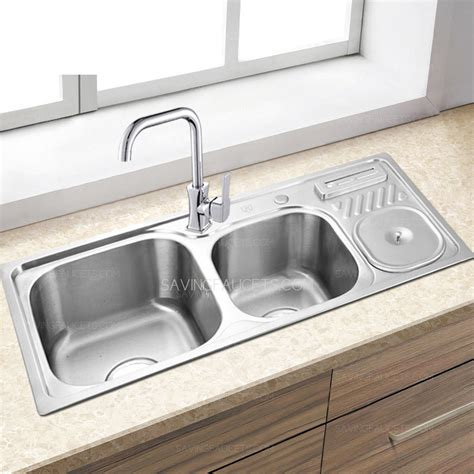 brushed nickel kitchen sink nickel vs brushed stainless steel kitchen sink paint