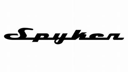Spyker Text Logos Carlogos Meaning Nulla Tenaci