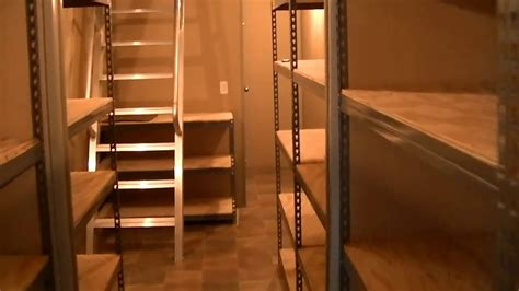 Underground Shelter Plans With Storage Containers
