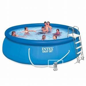 intex piscine ronde autoportante 457 x 122 m achat With piscine autoportee rectangulaire intex 1 photo piscine bois hawai