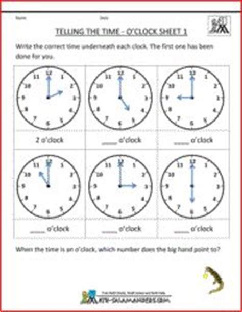 time worksheets images clock worksheets telling