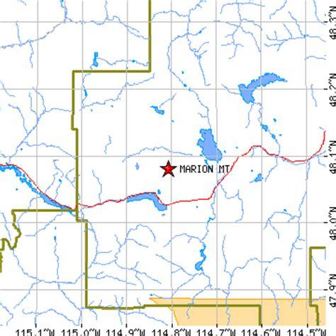 Marion, Montana (MT) ~ population data, races, housing ...
