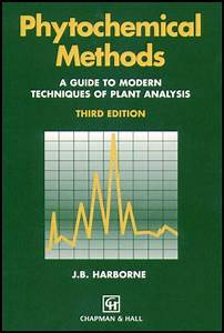 Phytochemical Methods  A Guide To Modern Techniques Of