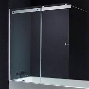 Porte Pour Baignoire : pare baignoire 2 volets coulissant pas cher planetebain ~ Premium-room.com Idées de Décoration