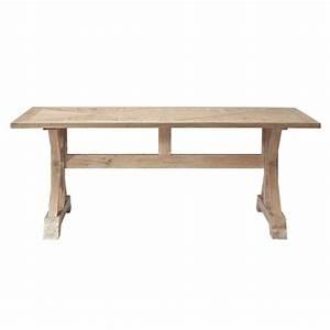 Table Maison Du Monde : oak dining table w 200cm ramatuelle maisons du monde ~ Teatrodelosmanantiales.com Idées de Décoration