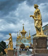 St. Petersburg Russia Statues