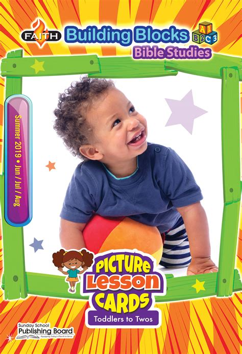 faith building blocks picture lesson cards toddlers to 735 | 04 PLCards SUM CVR.19
