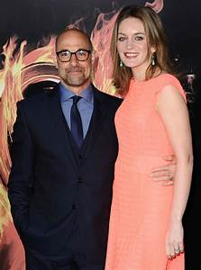 Stanley Tucci and Felicity Blunt - Hunger Games LA ...