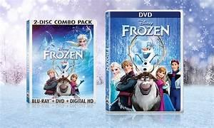 Disney's Frozen on DVD or Blu-ray | Groupon