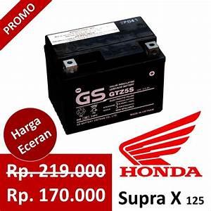 Jual Aki Kering Motor Supra X 125  Honda  Gs Astra Gtz5s  Gsastra 170 Di Lapak Grosir Aki Depok