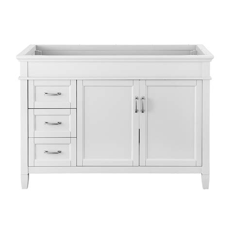 foremost vanity reviews foremost ashburn 48 in w x 21 75 in d vanity cabinet in