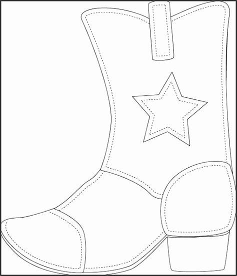 printable cowboy boot template sampletemplatess